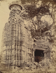 General view of the partially ruined Mahadeva Temple at Pali, Bilaspur District